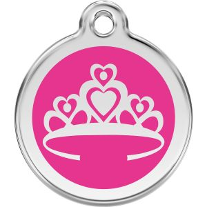 Red Dingo Crown Pet ID Tags