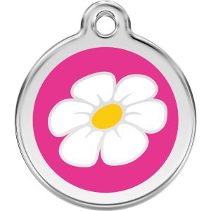 Red Dingo Daisy Pet ID Tags