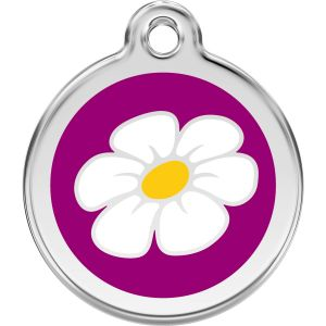 Red Dingo Daisy Pet ID Dog Tags