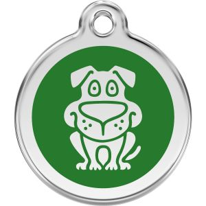 Red Dingo Dog Pet ID Dog Tags