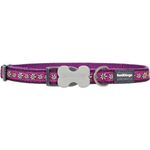 Daisy Chain Purple Collars