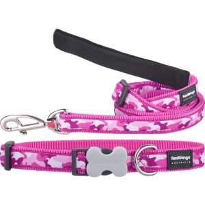 Camouflage Hot Pink Collar or Leash