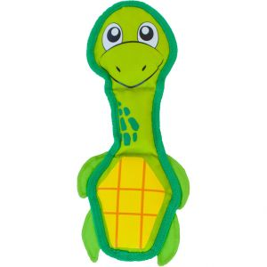 Outward Hound Fire Biterz Turtle Dog Toy