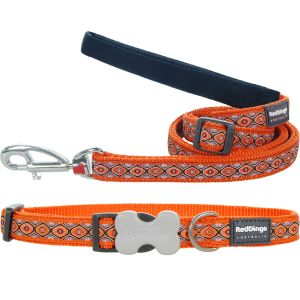 Snake Eyes Orange Collar or Leash or Harness