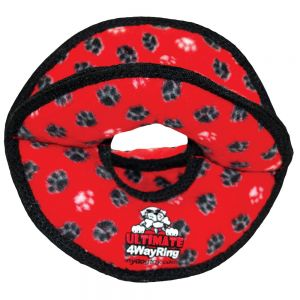 Ultimate 4 Way Ring Red Paws