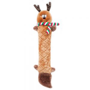 Zippy Paws Holiday Jigglerz the Reindeer