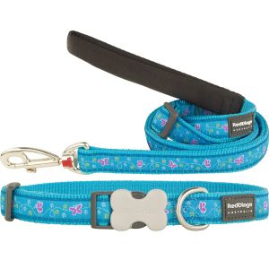 Butterfly Turquoise Collar or Leash