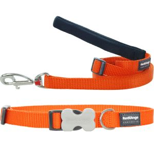 Classic Orange Collar or Leash or Harness