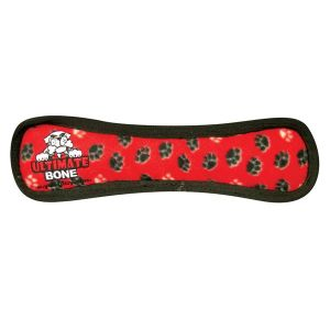 Ultimate Tuff Bone Red Paws