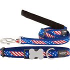 Stars & Stripes Collar or Leash or Harness USA